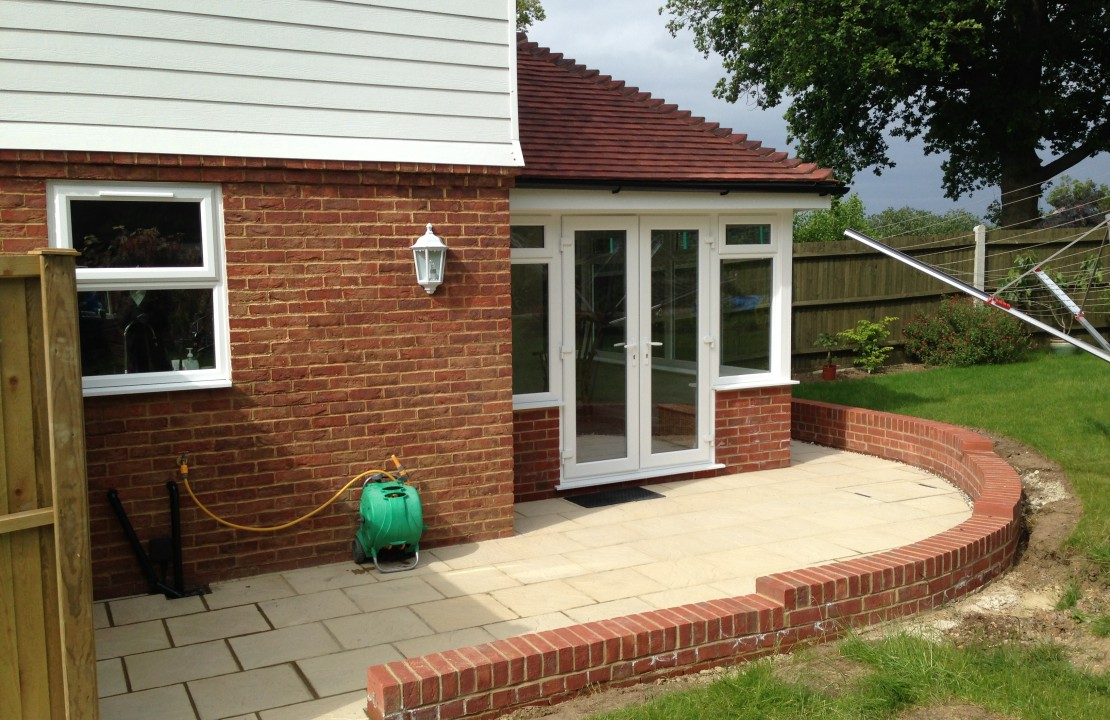 House extension, Dargate 2/2