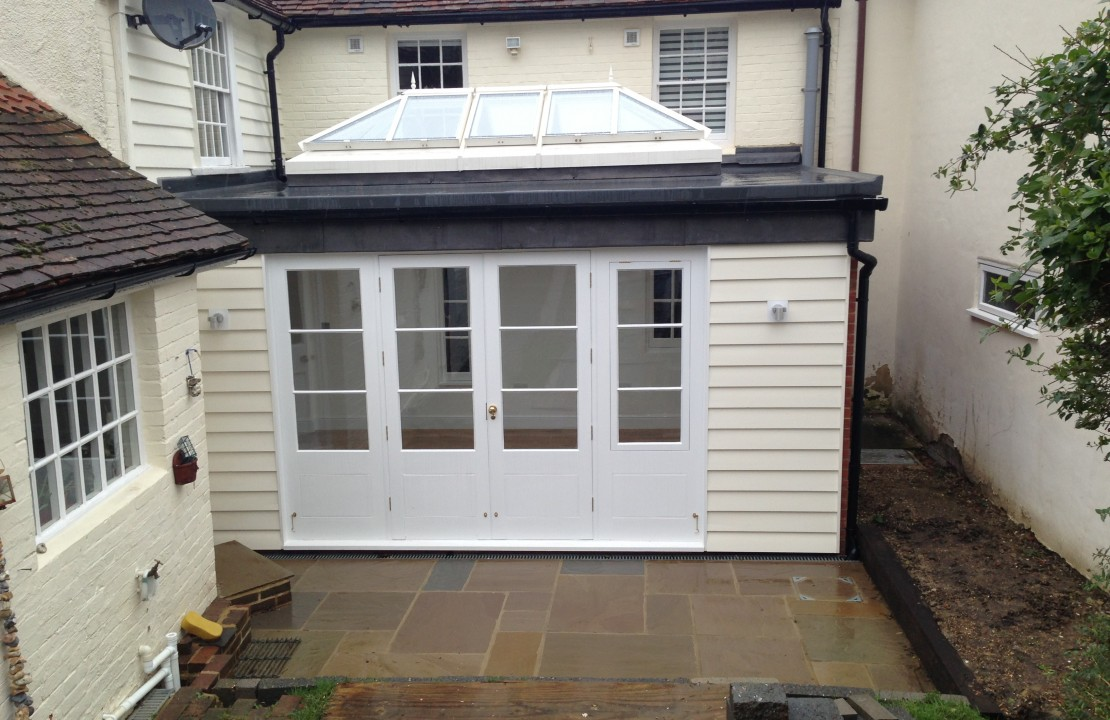 boughton, house extension & landscaping 3/3