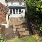 boughton, house extension & landscaping 1/3