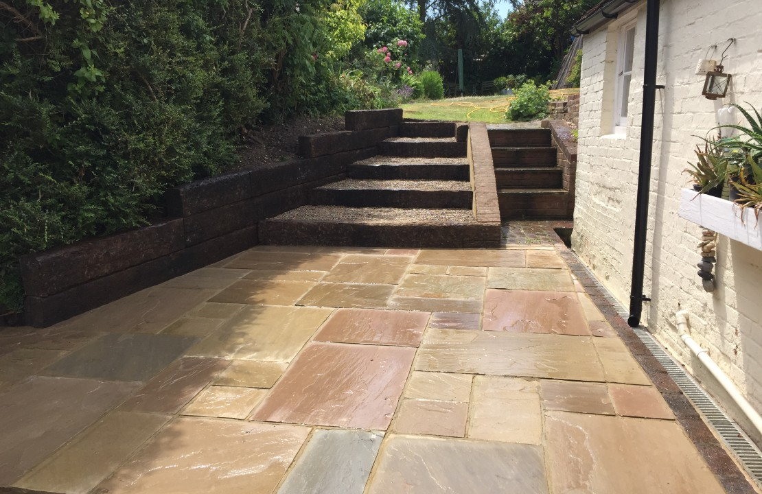 boughton, house extension & landscaping 2/3