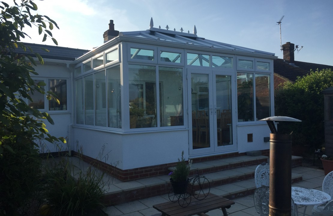 conservatory extension, Herne Bay 1/2