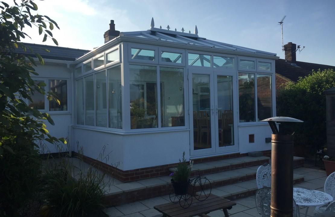 conservatory extension, Herne Bay 1/2